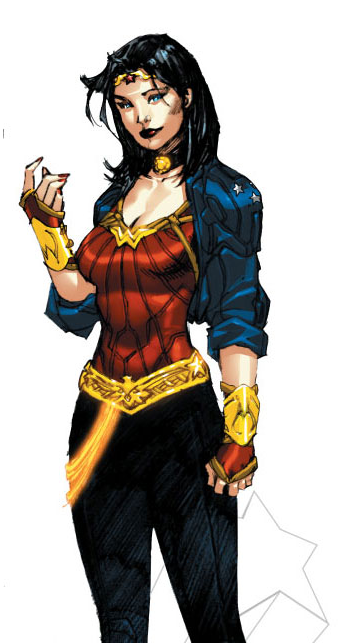 Illustration for article titled People have big opinions about Wonder Woman's new costume