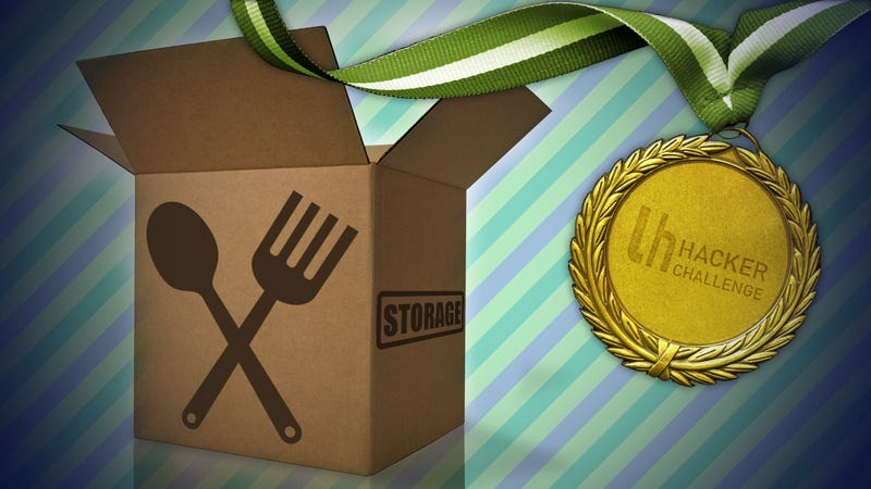Illustration for article titled Hacker Challenge: Hack Your Kitchen Storage