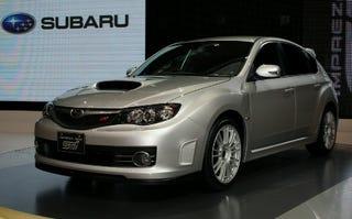 Illustration for article titled Tokyo Motor Show: Subaru WRX Impreza STI
