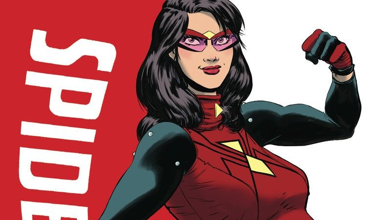 Illustration for article titled Exclusive Marvel preview: Spider-Woman returns, more pregnant than ever