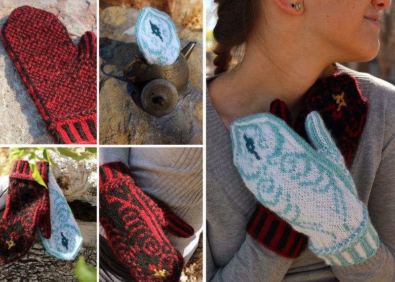Illustration for article titled Legend of Korra mittens let your hands battle for spiritual balance