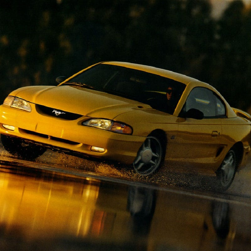 Illustration for article titled 1995 Mustang GT - It Is What It Was