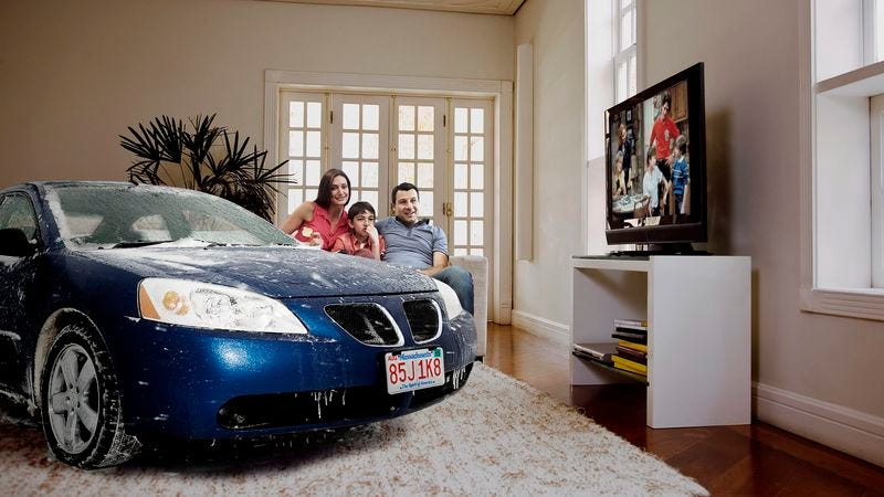 Illustration for article titled Family Lets Cars Come Inside House During Snowstorm