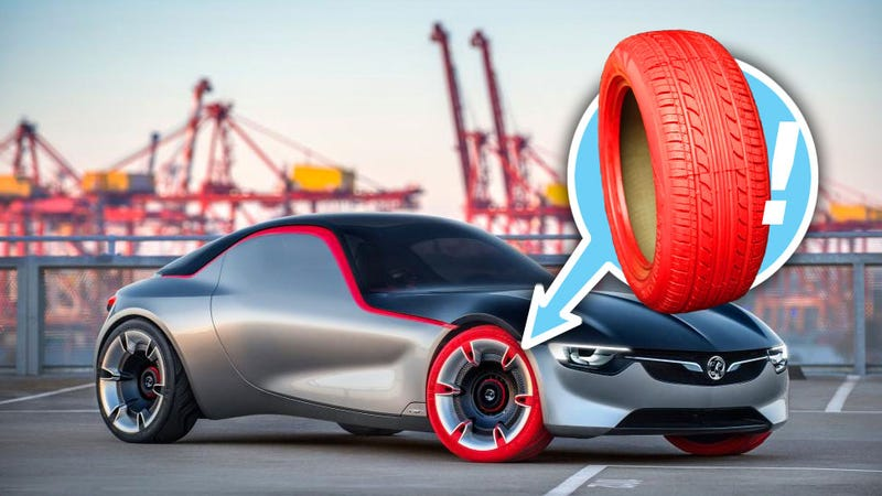 Are Colored Tires Finally Going To Happen?