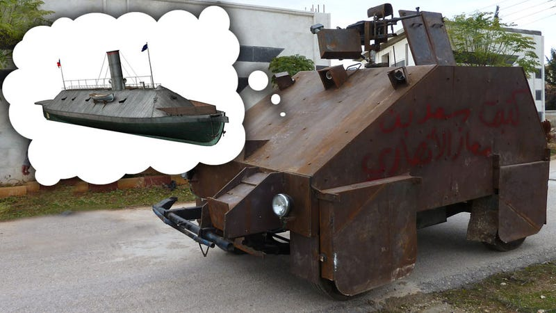 Syria S Amazing Diy Playstation Controller Driven Tank