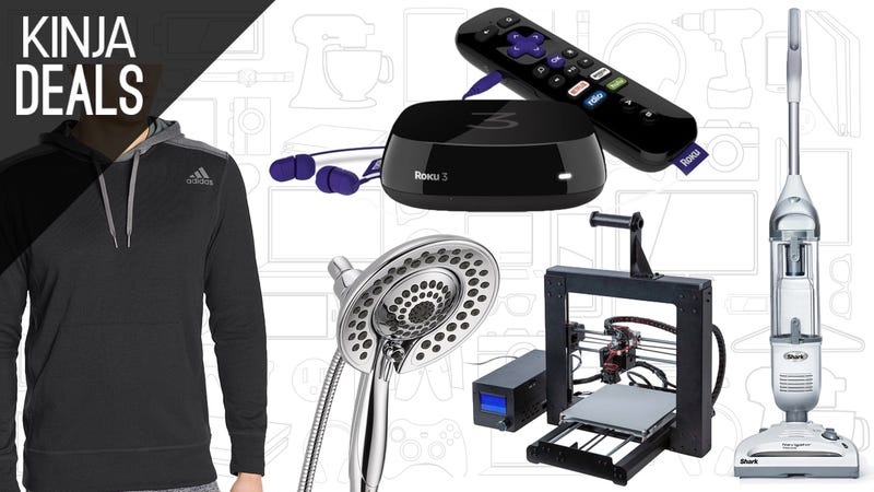 Illustration for article titled Today's Best Deals: Shower Heads, Adidas Gear, Voice-Controlled Roku, and More