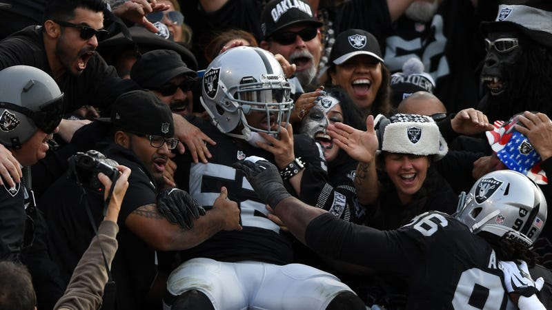 Illustration for article titled Khalil Mack's Raiders Backup, On This Most Auspicious Day: [Facepalm]