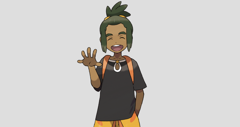 Illustration for article titled Some Pokémon Sun and Moon Fans Don't Believe Hau Is The Real Rival