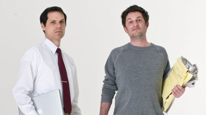 Illustration for article titled Michael Ian Black & Michael Showalter