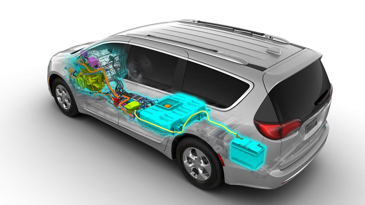 The 2017 Chrysler Pacifica Hybrid Might End Up Er Than Non Version