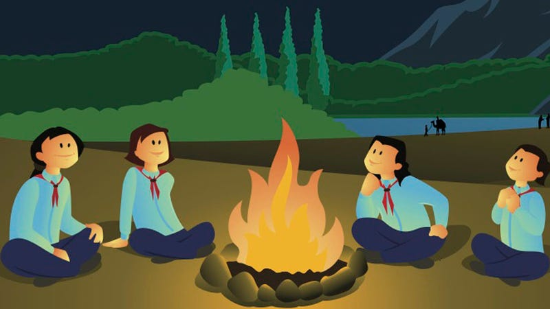 Illustration for article titled I Was an 18-Year-Old Girl Scout