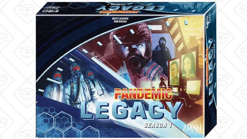 Illustration for article titled Today's best deals: Pandemic Legacy, James Bond, and more