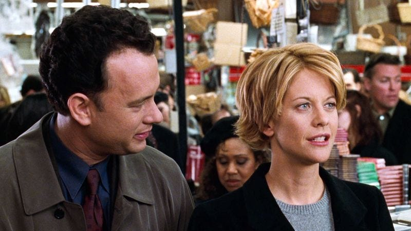 Illustration for article titled Report: Authorities Recommend The Film 'You've Got Mail' For Those Snowed In Today