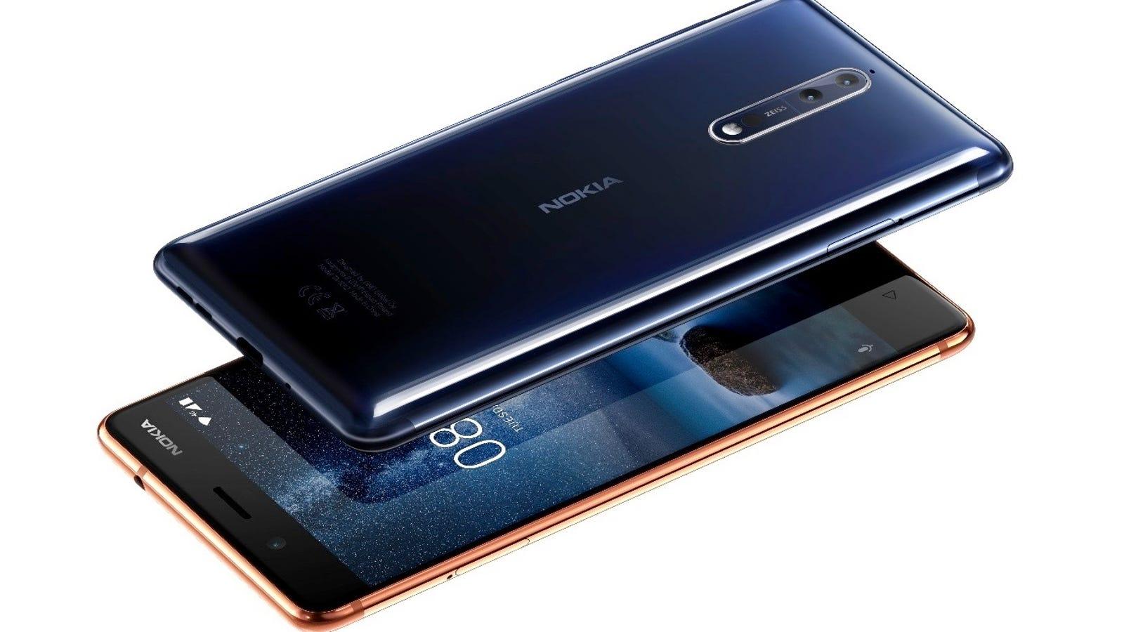 Nokia ha vuelto: el nuevo Nokia 8 tiene doble cámara Zeiss y el último Android en estado puro
