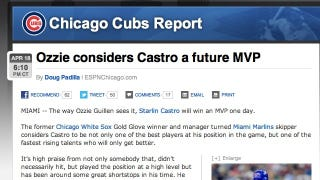 Illustration for article titled Ozzie Guillen Has More Praise For Some Guy Named Castro, According To ESPN