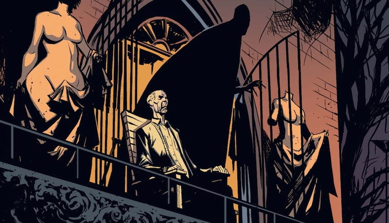 The Strain Comics Are So Close to the Show That It's Eerie