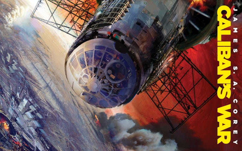"""Illustration for article titled Syfy Turns James S.A. Corey's Expanse Into """"Game Of Thrones In Space"""""""