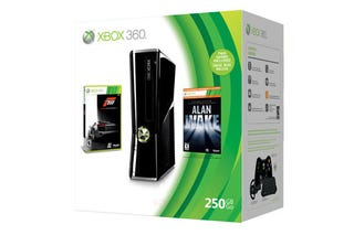 Illustration for article titled 250GB Xbox Includes Forza, Alan Wake