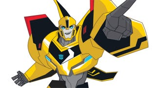 Illustration for article titled Bumblebee Takes Command In The Next Transformers Animated Series