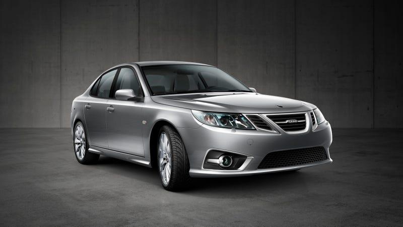 The 2014 Saab 9-3.