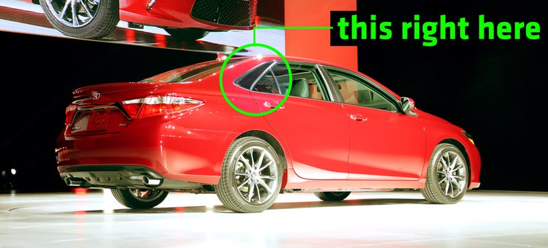 Illustration for article titled The One Detail That Cheapens The 2015 Toyota Camry