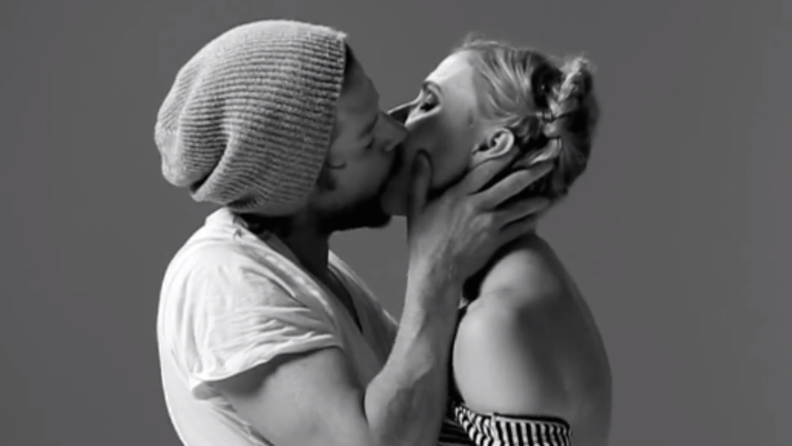 Watching complete strangers kiss for the first time is really beautiful