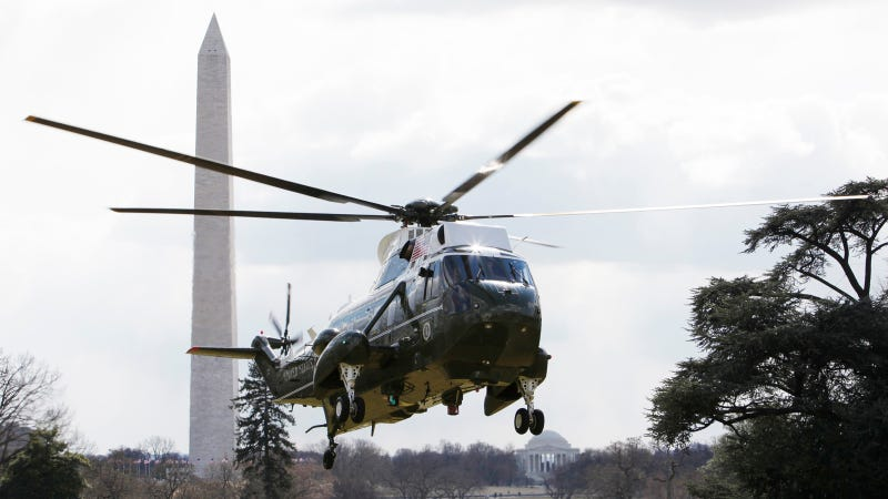 Illustration for article titled The $13 Billion Presidential Helicopters We Scrapped and Sold to Canada