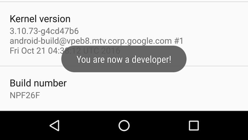 Developer Options Tool Apk