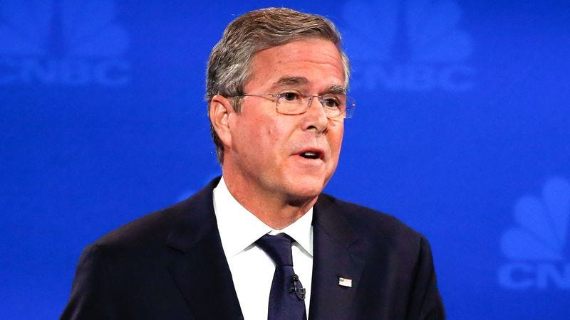 Poll Finds 23% Of Americans Would Vote For Jeb Bush If Candidate Standing Right Next To Them In Voting Booth