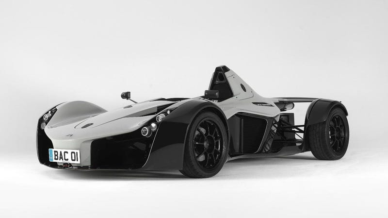 Illustration for article titled New BAC Mono race car for the street is fast, not fake