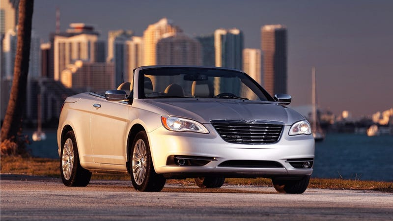 Illustration for article titled The Chrysler 200 Convertible Is Dead