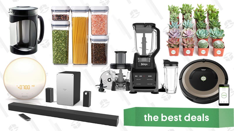 Illustration for article titled Thursday's Best Deals: Ninja Blender, Two Nike Sales, Olivers Mystery Box, Roomba, and More