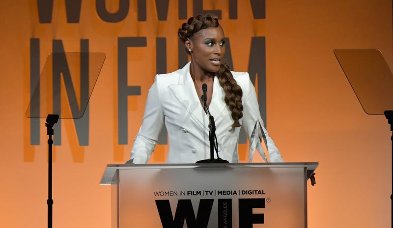 Issa Rae at the 2019 Women In Film Annual Gala presented by Max Mara with additional support from partners Delta Air Lines and Lexus