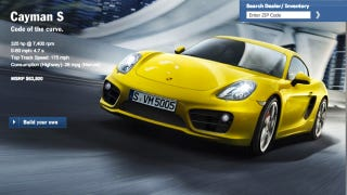 Illustration for article titled Who Can Configure The Best 2013 Porsche Cayman?