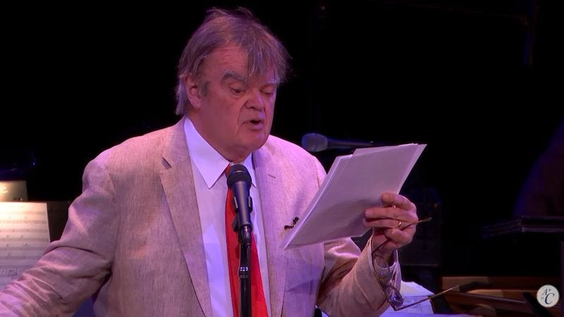 "Garrison Keillor reads ""The Raven (Trump)"" (Screenshot: YouTube)"