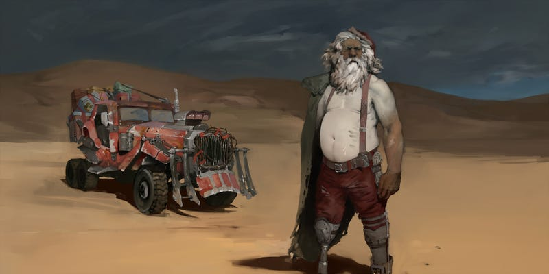 Illustration for article titled Australian Christmas Is Hot, Weird (And Apocalyptic)