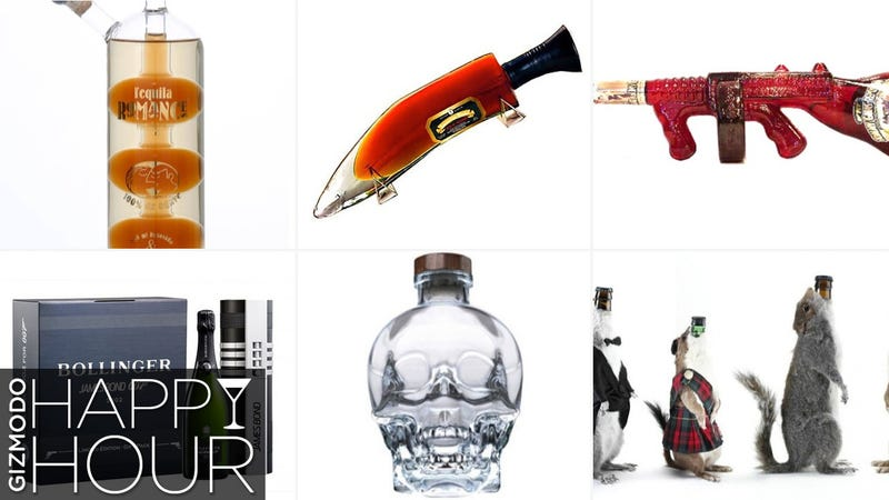 Illustration for article titled The 20 Weirdest, Coolest Liquor Bottles in the World