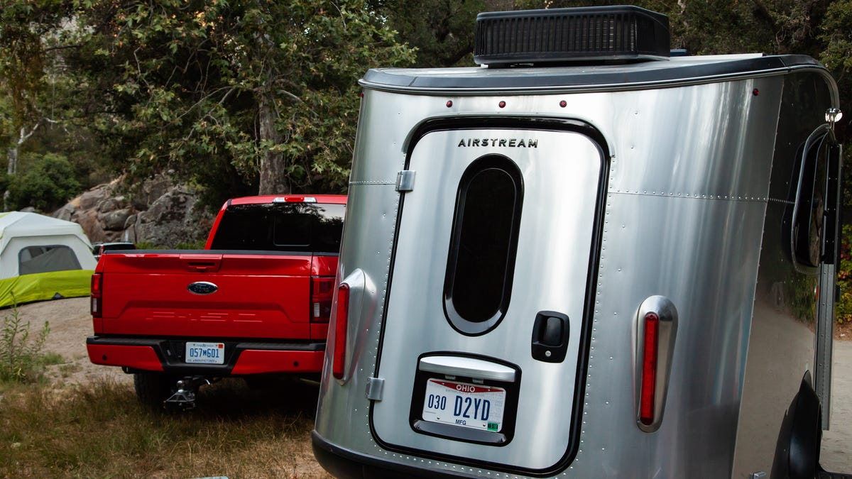 A 2018 Ford F-150 Diesel Pulling an Airstream Basecamp Is the Best