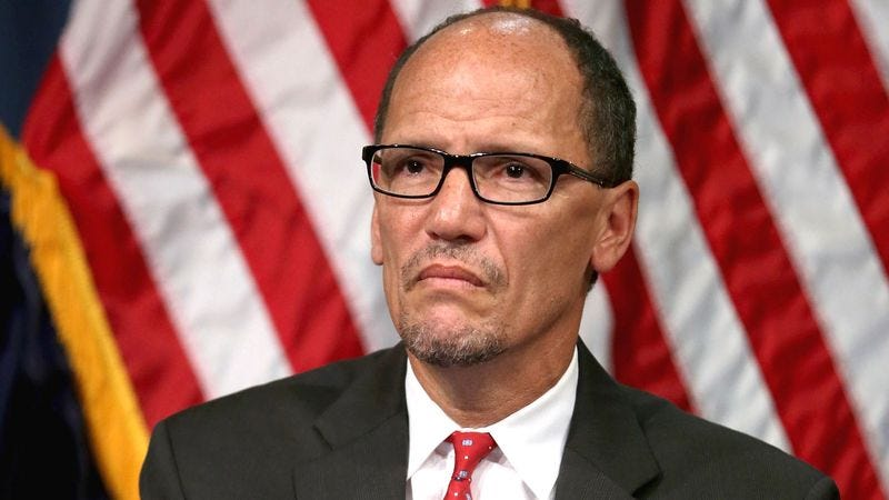 Illustration for article titled Labor Secretary Horrified To Learn Some Americans Working Jobs They Do Not Truly Enjoy