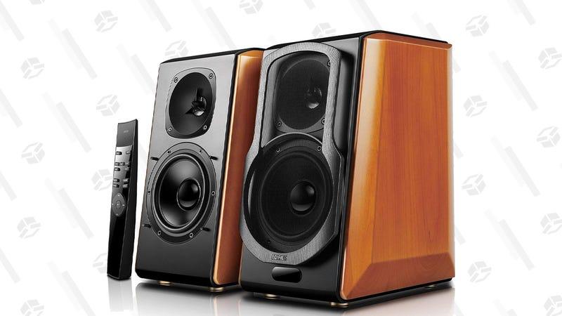 Edifier S2000pro Powered Bluetooth Bookshelf Speakers   $320   Amazon