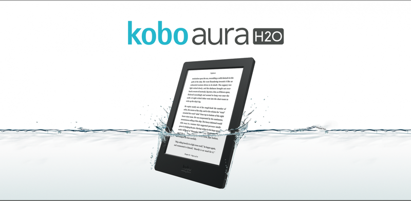 Illustration for article titled Read In the Tub? The Waterproof Kobo Aura H2O Is For You