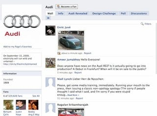"""Illustration for article titled US Audi President Takes Mulligan On Facebook Over Volt """"Idiots"""" Comment"""