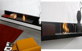 Illustration for article titled Lounge Fire Fireplace Looks Like a Bench—What Could Go Wrong?