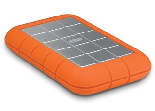 Illustration for article titled LaCie Rugged Portable Hard Drive Now Squeezes in 500GB