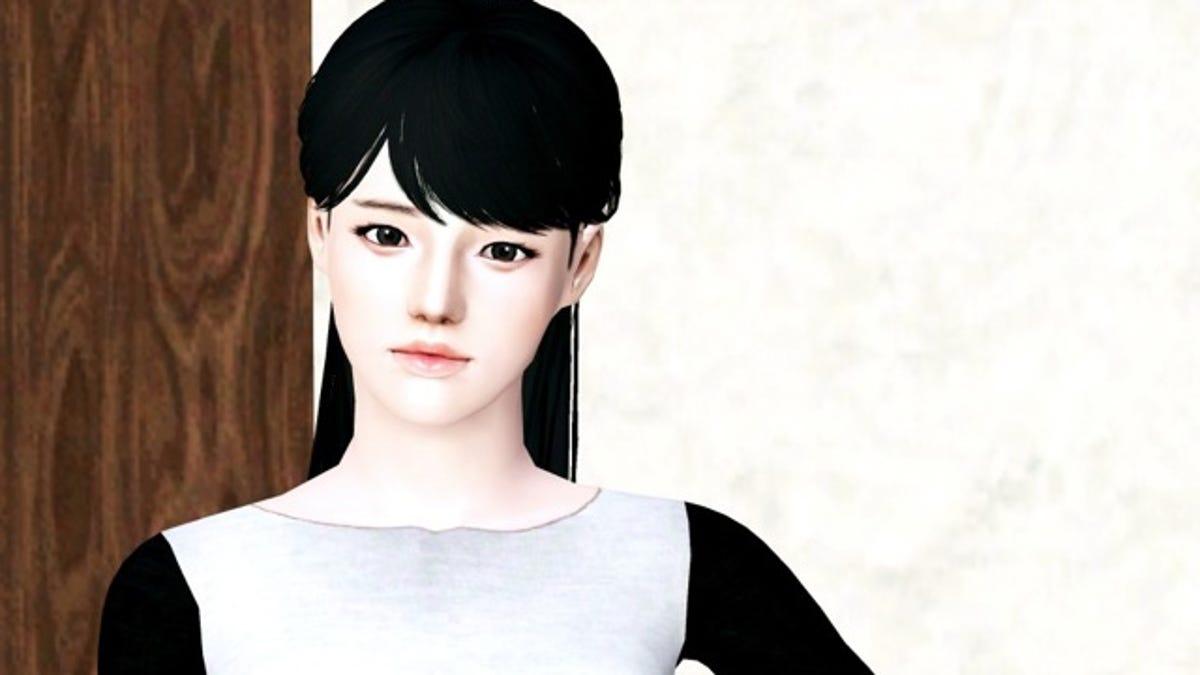 This Isnt A Korean Fashion Magazine Its The Sims 3