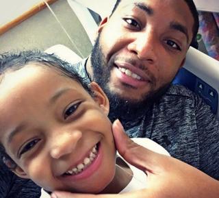 Houston Texans NFL player Devon Still and his daughter, Leah StillInstagram