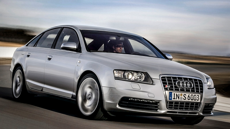 Why Buy A Ford Taurus When This Ridiculous V Audi S Is Way Less - Audi s6 v10