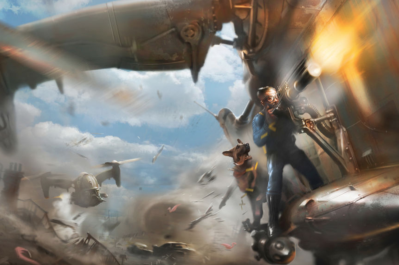 Illustration for article titled Fallout 4 Player Beats Impossible Battle In The Best Way