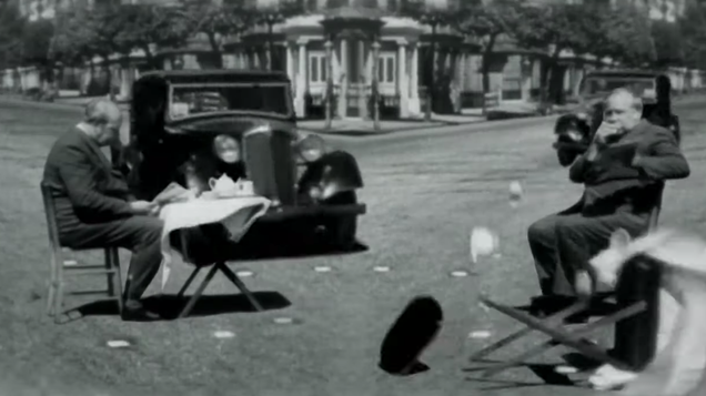 Cyriak's latest video turns a corny PSA from the 1940s into a thumping, surrealist nightmare