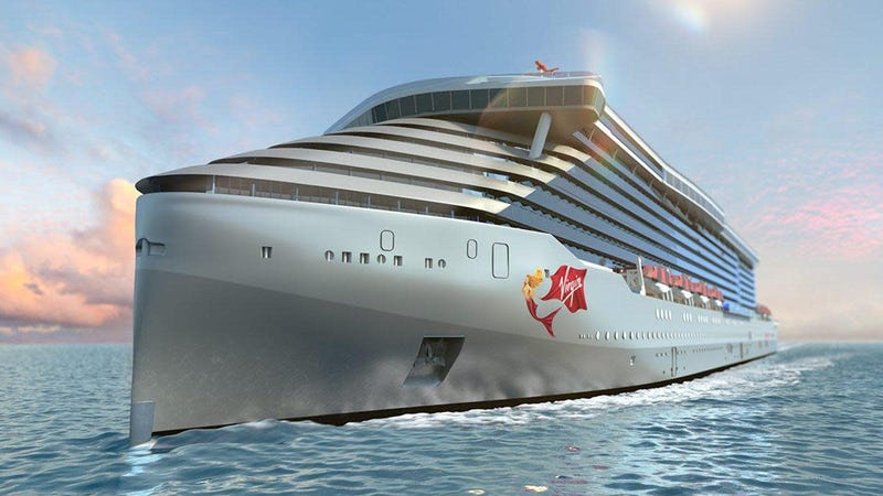 Virgin Voyages lays keel for first cruise ship